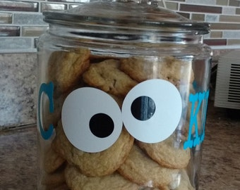 Cookie Jar with Personalization, Half Gallon Size
