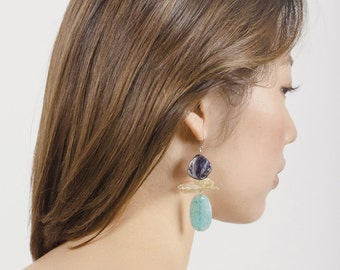 Blue Dawn Earrings