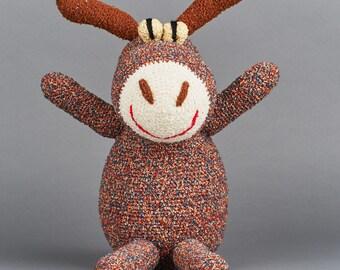 Donkey, Handmade wool animal figure