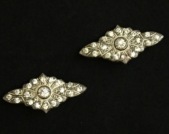 Vintage Art Deco Brooch Set