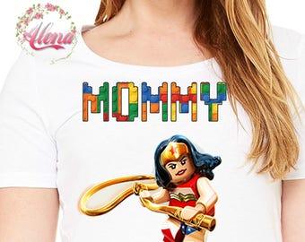 Lego Mom Iron On Transfer , Birthday Mommy Iron On Transfer , Mommy Birthday Shirt , Lego Birthday T Shirt , Iron On Transfer , DIGITAL FILE