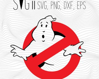GhostBusters Svg Files, Ghostbusters logo svg eps png dxf studio3 files, Ghostbusters svg for slihouette, Svg for cricut, Iron on transfers