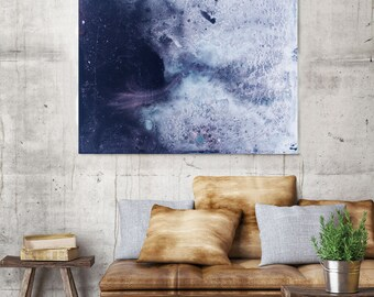 Mira - Purple Abstraction - Original print