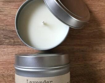 4 oz Lavender Soy Candle
