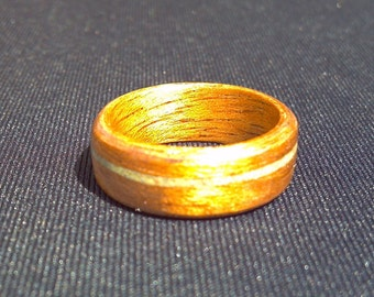 Handcrafted Wooden Mahogony Rings