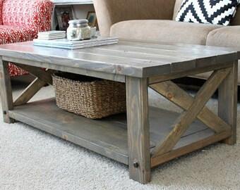 Custom Farmhouse Coffee Table