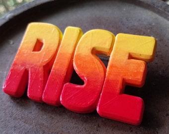 Rise Up Pinback