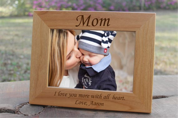 Mothers Day Frame, Mothers Day from Son, Mom from Son, Gifts for Mom, Gift for Mother, Gift from Kids, Gift from Daughter