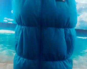 adidas™ boy's blue padded gilet *18w 25l age 13 14*