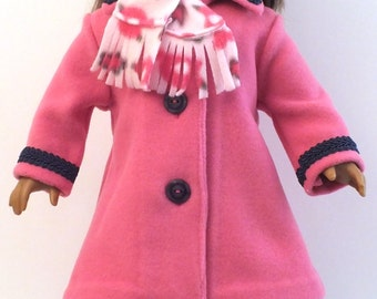 Rose in Winter Coat