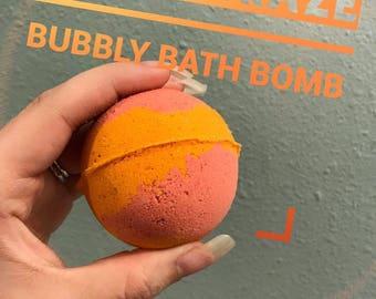 Citrus Craze Bubbly bath bomb