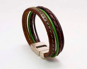 Made mano.leather bracelet leather bracelet