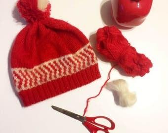 Red Special Design Hat