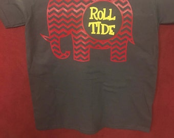 Chevron Roll Tide Elephant