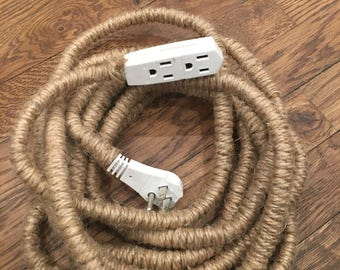 Organic Modern Rope Extension Cord
