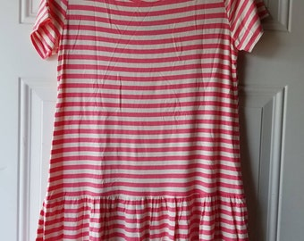 Pink and white striped