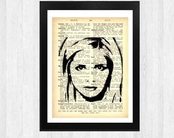Buffy Art Print - Wall Art - Digital Prints -Book Print - Home Decor - Book Page Print - Quote Print - Print A4 - Quotation  -
