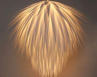 Handmade Paper Chandelier Light