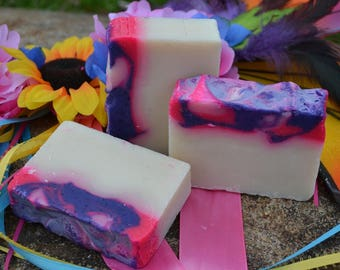 Mardi Gras Vegan Handcrafted Soap