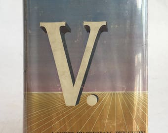 "Pynchon's ""V."", first edition in dust jacket"
