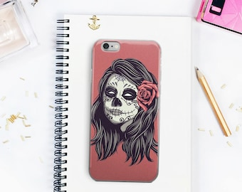 Day Of The Dead Stylish And Cool iPhone 5/5s/SE iPhone 6Plus/6sPlus iPhone 6/6s iPhone 7 iPhone 7 Plus Case Halloween