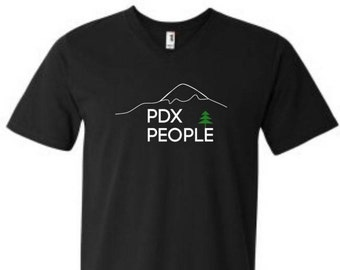 PDX People – Mt Hood – Sketch