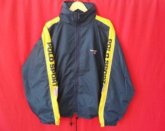 vintage polo ralph lauren windbreakers large mens size