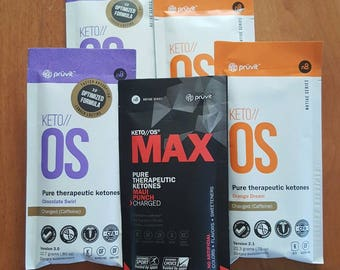 Keto//OS 5 Day Experience Packet Choose FLAVOR or do a MIXED Flavor Packet