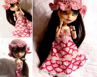 Set pullip: dress + Hat