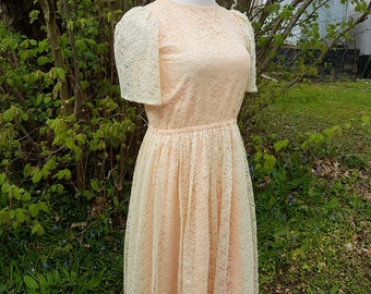 Vintage Lace Tea Dress
