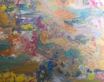 abstract, pastel colors, acrylic, soft art, art, painting, acrylic painting, 16x20,