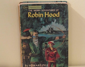 Vintage 1960's, Companion Library Edition Grosset & Dunlap Book, Robin Hood, The Little Lame Prince