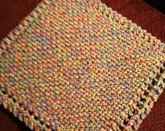 Hand Knit Dishcloth