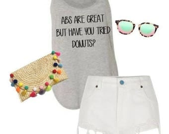 Abs are great but have you tried donuts tank