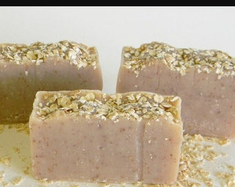 Handmade Oatmeal & Shea Butter Soap