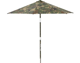 Electric Beach Umbrella that It settler in the Sand with a Click ! Model Warrior