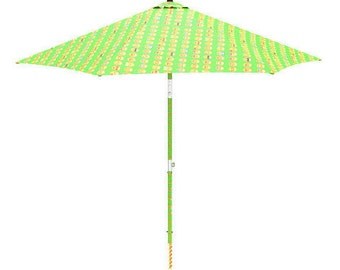 Electric Beach Umbrella that It settler in the Sand with a Click ! Model Emotion