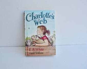 Charlotte's Web Hardcover Book (1980)