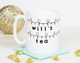 Stranger things inspired gift mug