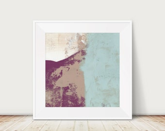 Mountain Print- Abstract Landscape Art Print, Modern Canvas Print, Nature Inspired Canvas Art Available in a variety of Sizes