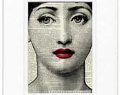 ruby, lina Cavalieri print