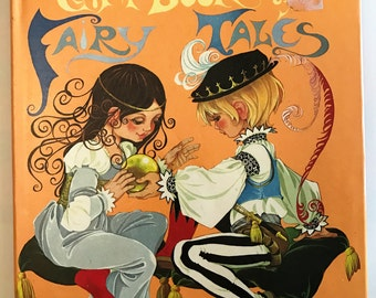 Fairy Tales Dean Gift Book of Fairy Tales Illustrated by Janet & Anne Grahame Johnstone HC 1973 Beautiful Illustrations