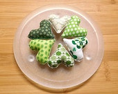 St. Patrick's Day Heart Ornament Holiday  Bowl fillers