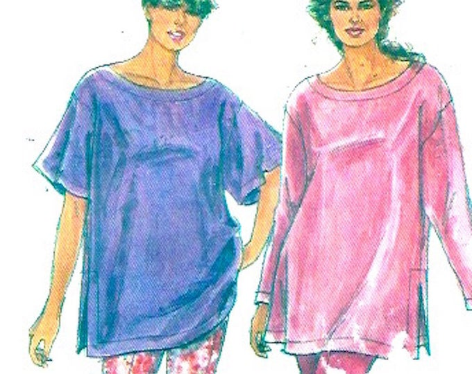 Womens tops leggings sewing pattern Simplicity 7695 Summer Style UNCUT Size 8 to 20