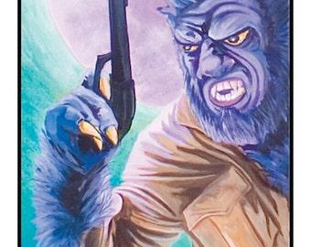 Wolf Cop ART PRINT