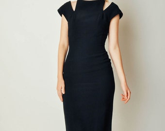 Vintage Estevez Cut Out Dress