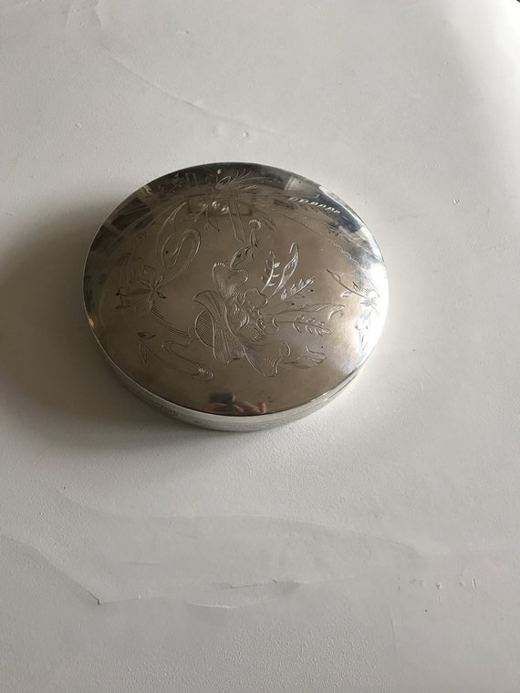 Islamic Sterling Silver Box Persian