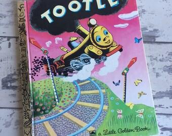 Vintage Little Golden Book - Tootle 1990s edition - Pristine