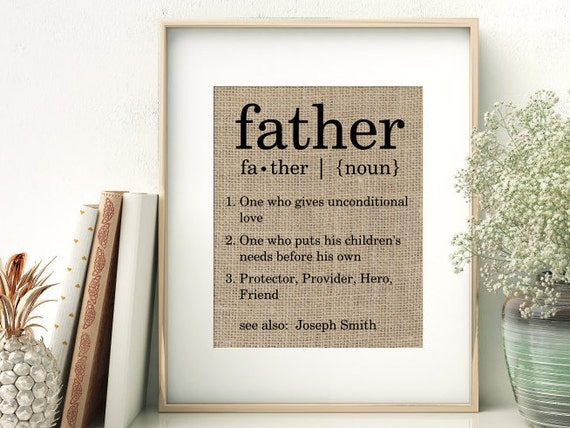 listing definition personalized fathers
