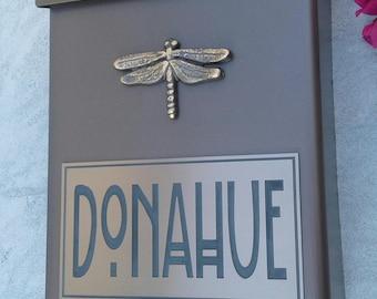 Craftsman Dragonfly Mailbox Customized